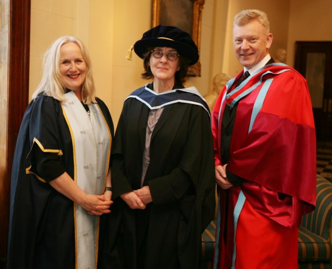 Dr. Annie Doona, Consolata Boyle and Dr. Andrew Power